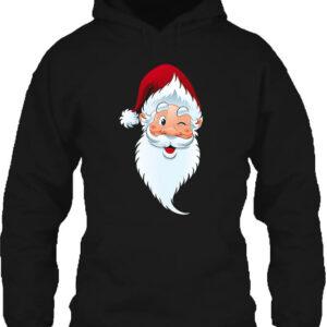 Mikulás – Unisex kapucnis pulóver