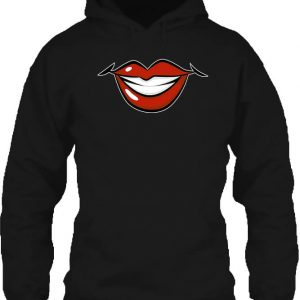 Női mosoly – Unisex kapucnis pulóver