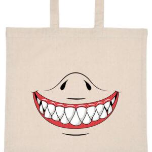 Cápafog mosoly- Basic rövid fülű táska