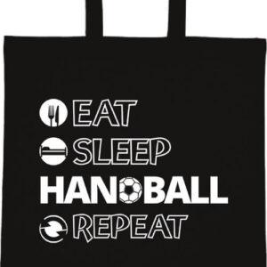 Eat sleep handball repeat- Basic rövid fülű táska