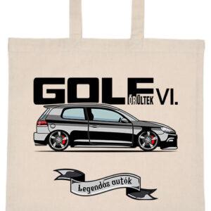 Golf őrültek VI- Basic rövid fülű táska