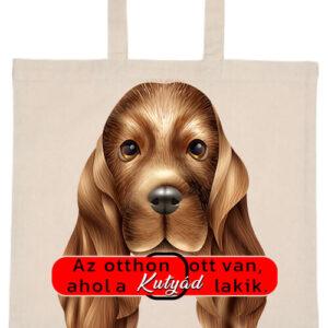 Otthon ahol a kutya- Basic rövid fülű táska