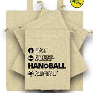 Eat sleep handball repeat – Táska szett