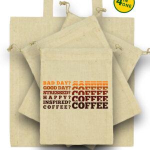 I love coffee – Táska szett