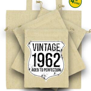 Vintage 1962 szülinapos – Táska szett