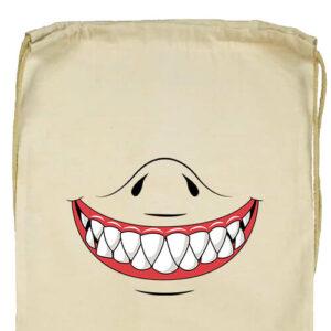 Cápafog mosoly- Basic tornazsák