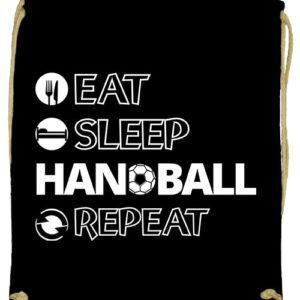 Eat sleep handball repeat- Prémium tornazsák