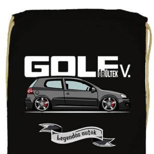 Golf őrültek V- Prémium tornazsák