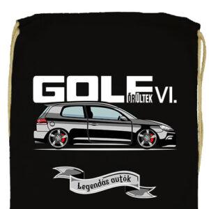 Golf őrültek VI- Prémium tornazsák