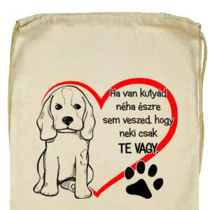 Ha van kutyád- Basic tornazsák