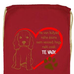 Ha van kutyád- Prémium tornazsák