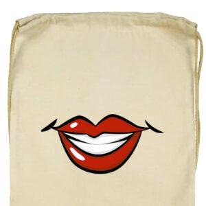 Női mosoly- Basic tornazsák