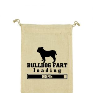 Bulldog fart – Vászonzacskó kicsi