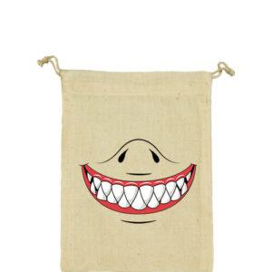 Cápafog mosoly – Vászonzacskó kicsi