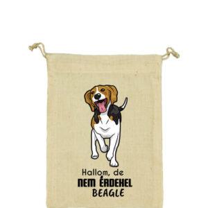 Hallom de nem érdekel beagle – Vászonzacskó kicsi