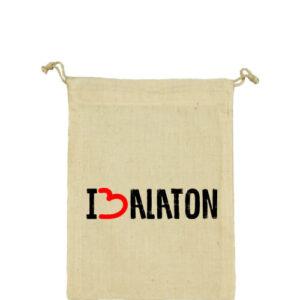 I love Balaton – Vászonzacskó közepes