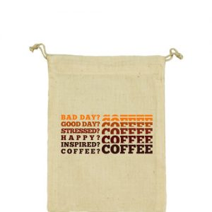I love coffee – Vászonzacskó közepes