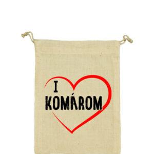 I love Komárom – Vászonzacskó közepes