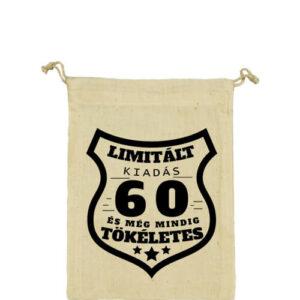 Limitált kiadás 60 – Vászonzacskó kicsi