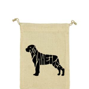 Rottweiler – Vászonzacskó közepes