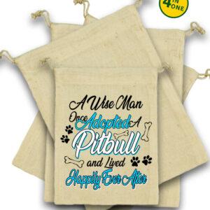 Adopted pitbull – Vászonzacskó szett