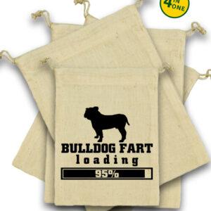 Bulldog fart – Vászonzacskó szett