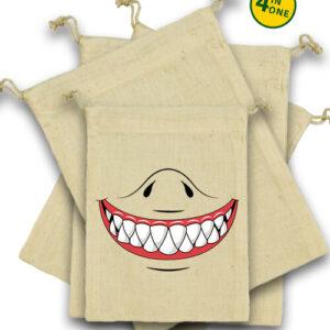 Cápafog mosoly – Vászonzacskó szett