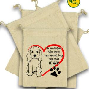 Ha van kutyád – Vászonzacskó szett