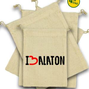 I love Balaton – Vászonzacskó szett