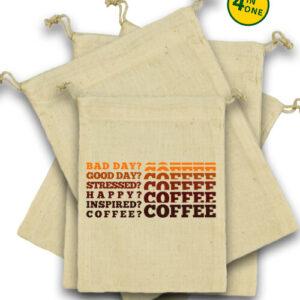 I love coffee – Vászonzacskó szett