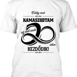 Az élet 20 után – Férfi póló