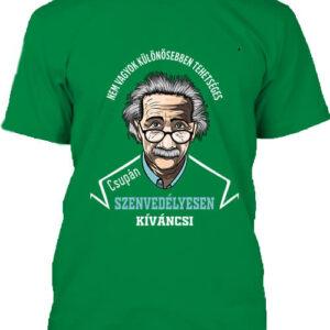 Szenvedélyes Einstein – Férfi póló