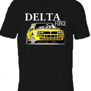 Lancia Delta Force – Férfi V nyakú póló