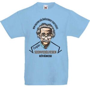 Szenvedélyes Einstein- Gyerek póló