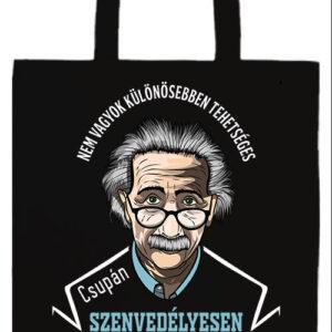Szenvedélyes Einstein- Prémium hosszú fülű táska