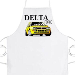 Lancia Delta Force- Basic kötény