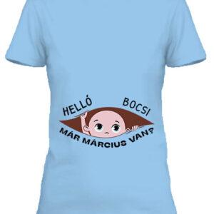 Baba születés március – Női póló