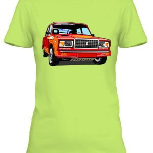 Lada 2107 rally – Női póló