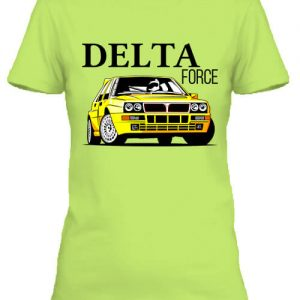 Lancia Delta Force – Női póló