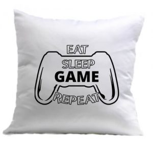 Eat sleep game repeat – Párna