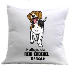 Hallom de nem érdekel beagle – Párna