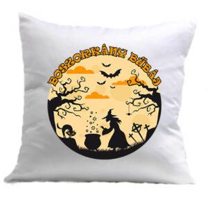 Halloween boszorkány bűbáj – Párna