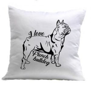I love french bulldog francia bulldog – Párna