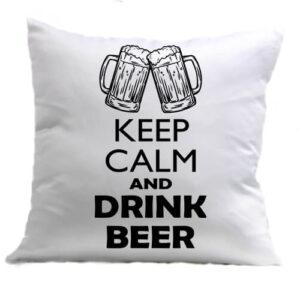 Keep calm beer sör – Párna