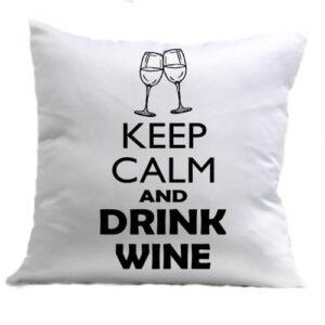 Keep calm bor – Párna