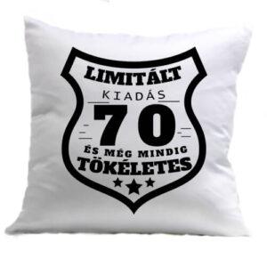 Limitált kiadás 70 – Párna