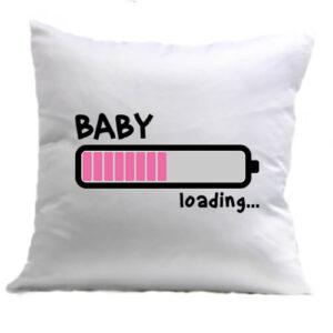 Loading lány – Párna