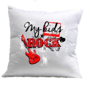 My kids rock zene – Párna