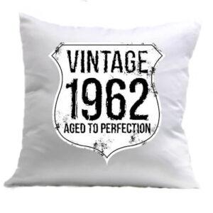 Vintage 1962 szülinapos – Párna
