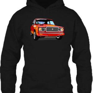 Lada 2107 rally – Unisex kapucnis pulóver